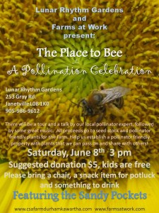 The Place to Bee flyer